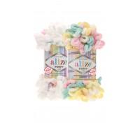Пряжа Alize Puffy Color Ализе Пуффи Колор купить на официальном сайте 3motka.ru недорого по невысоким ценам, со скидками по оптовым ценам дешево в магазине ТРИ Мотка
