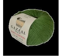 Пряжа Gazzal Baby Cotton Газзал Беби Котон купить на официальном сайте 3motka.ru недорого по невысоким ценам, со скидками по оптовым ценам дешево в магазине ТРИ Мотка
