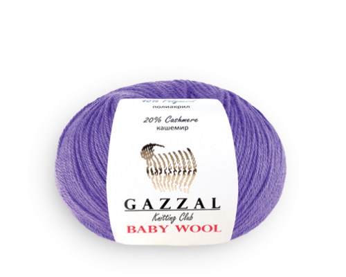 Пряжа Gazzal Baby Wool Газзал Беби Вул купить на официальном сайте 3motka.ru недорого по невысоким ценам, со скидками по оптовым ценам дешево в магазине ТРИ Мотка