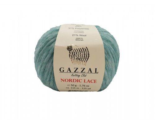 Пряжа Gazzal Nordic Lace Газзал Нордик Лейc купить на официальном сайте 3motka.ru недорого по невысоким ценам, со скидками по оптовым ценам дешево в магазине ТРИ Мотка