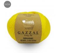 Пряжа Gazzal Organic Baby Cotton Газзал Органик Беби Котон купить на официальном сайте 3motka.ru недорого по невысоким ценам, со скидками по оптовым ценам дешево в магазине ТРИ Мотка