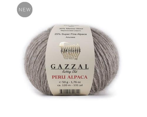 Gazzal Peru Alpaca (25% Альпака, 30% Мериносовая Шерсть, 45% Акрил, 50гр/120м)