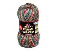 Пряжа Himalaya Everyday Rengarenk Гималаи Эвридей Ренгаренк купить на официальном сайте 3motka.ru недорого по невысоким ценам, со скидками по оптовым ценам дешево в магазине ТРИ Мотка
