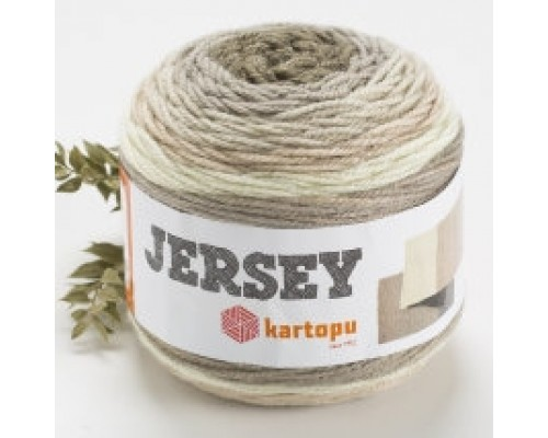 Kartopu Jersey (80% Акрил 20% Шерсть, 200гр/360м)