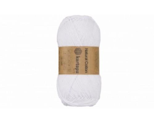 Kartopu Natural Cotton (15% Полиэстр 85% Хлопок, 100гр/150м)