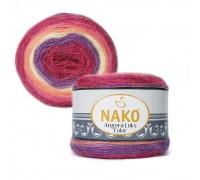 Пряжа Nako Angora Luks Color Нако Ангора Люкс Колор купить на официальном сайте 3motka.ru недорого по невысоким ценам, со скидками по оптовым ценам дешево в магазине ТРИ Мотка