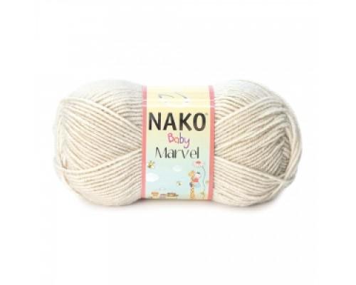 Nako Baby Marvel (75% Акрил 25% Шерсть, 50гр/130м)