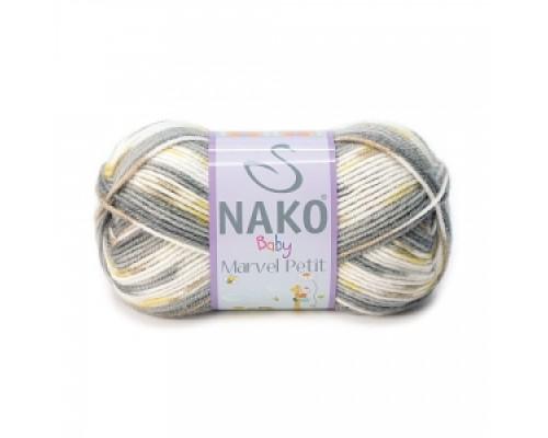 Nako Baby Marvel Petit (75% Акрил 25% Шерсть, 50гр/130м)