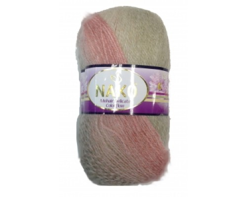 Nako Mohair Delicate Colorflow (60% Акрил 40% Мохер, 100гр/500м)
