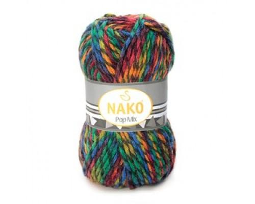 Пряжа Nako Pop Mix Нако Поп Микс купить на официальном сайте 3motka.ru недорого по невысоким ценам, со скидками по оптовым ценам дешево в магазине ТРИ Мотка