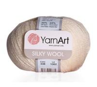 Пряжа YarnArt Silky Wool Ярнарт Силки Вул купить на официальном сайте 3motka.ru недорого по невысоким ценам, со скидками по оптовым ценам дешево в магазине ТРИ Мотка