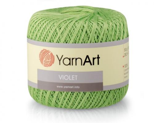 Пряжа YarnArt Violet Ярнарт Виолет купить на официальном сайте 3motka.ru недорого по невысоким ценам, со скидками по оптовым ценам дешево в магазине ТРИ Мотка
