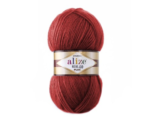Alize Angora Real 40 Plus (40% Шерсть, 60% Aкрил, 100 гр/225 м)