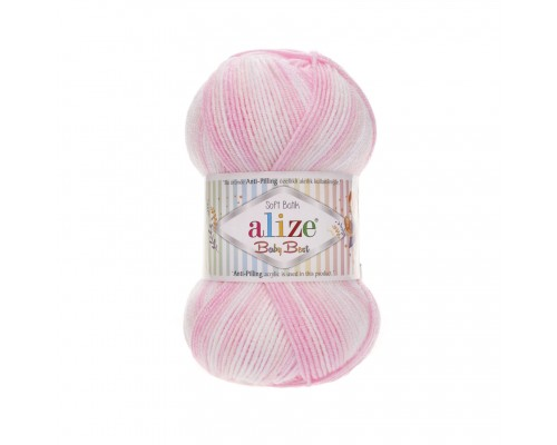 Пряжа Alize Baby Best Batik Ализе Беби Бэст Батик купить на официальном сайте 3motka.ru недорого по невысоким ценам, со скидками по оптовым ценам дешево в магазине ТРИ Мотка