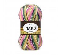 Пряжа Nako Boho  Нако Бохо купить на официальном сайте 3motka.ru недорого по невысоким ценам, со скидками по оптовым ценам дешево в магазине ТРИ Мотка