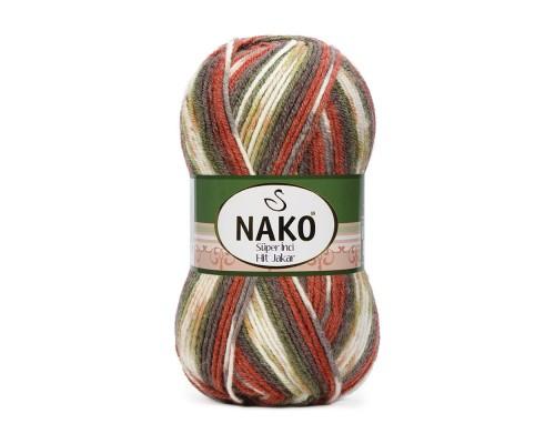 Пряжа Nako SuperInciHitJakar  Нако СуперИнкХитДжакар  купить на официальном сайте 3motka.ru недорого по невысоким ценам, со скидками по оптовым ценам дешево в магазине ТРИ Мотка