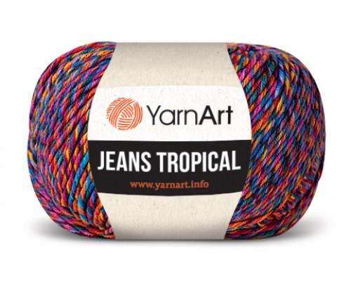 Пряжа YarnArt Jeans Tropical  Ярнарт Джинс Тропикал  купить на официальном сайте 3motka.ru недорого по невысоким ценам, со скидками по оптовым ценам дешево в магазине ТРИ Мотка